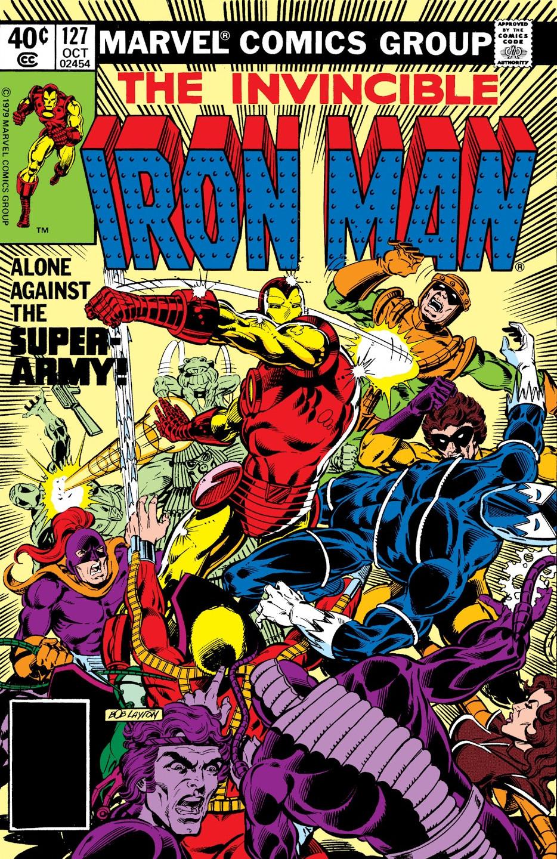 Beetle Iron Man Iron Man Vol 1 127