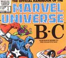 Official Handbook of the Marvel Universe Vol 1 2