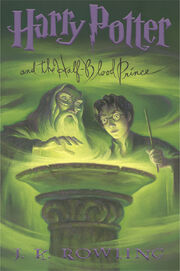 Harry potter HBP Scholastic edi