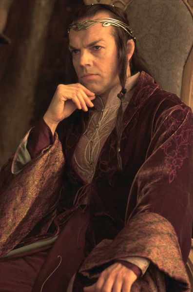 Elvish People Elrond during the Council of