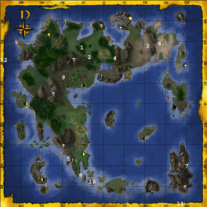 Ultima Online Dungeon Map Keyword Data - Related Ultima Online