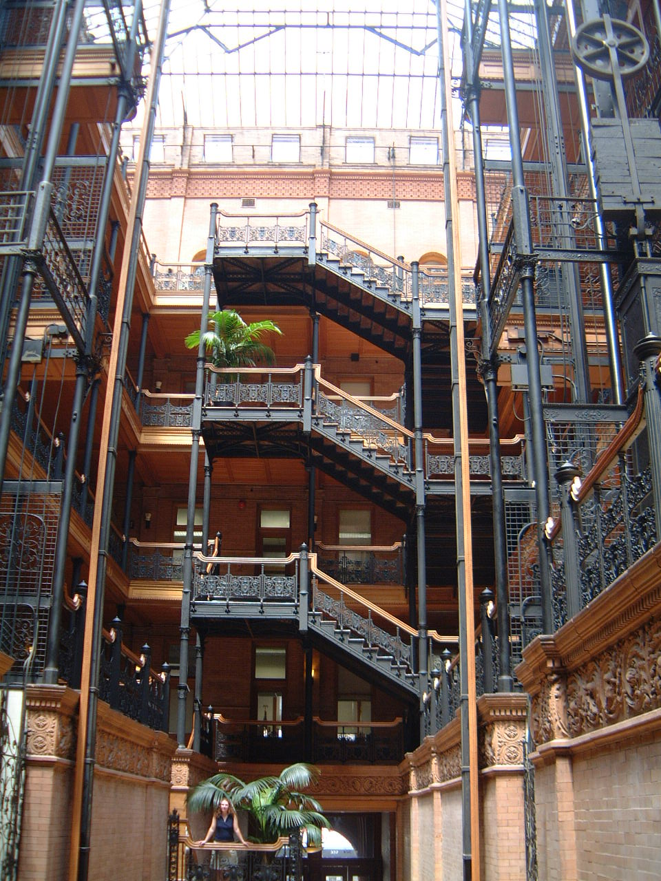 Bradbury Building Off World The Blade Runner Wiki
