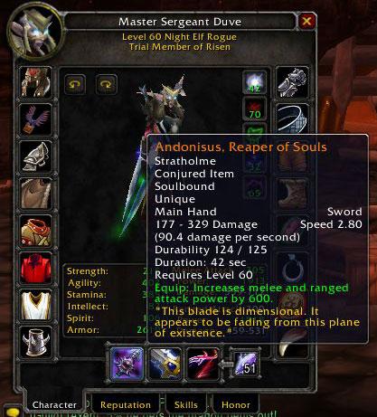 Wow Legion Legendary Ring Boe