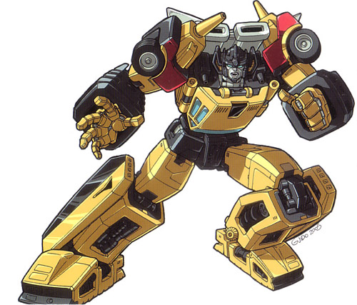 Sunstreaker (G1) - Teletraan I: the Transformers Wiki ...