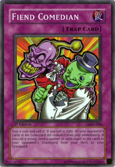 Card rulings fiend comedian yu gi oh wikia