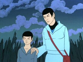 Spock, young and old