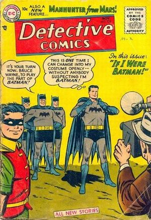 Cover for Detective Comics #225 (1955)