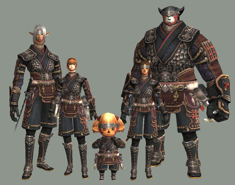FFXI Armor for Mages?