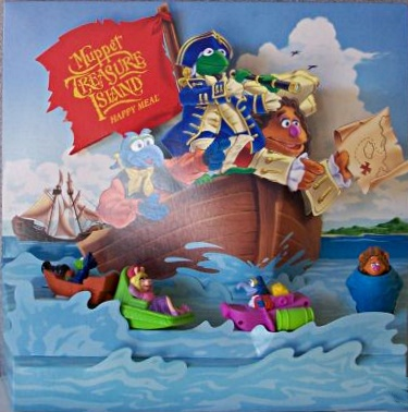 Muppet Treasure Island Happy Meal Toys Muppet Wiki