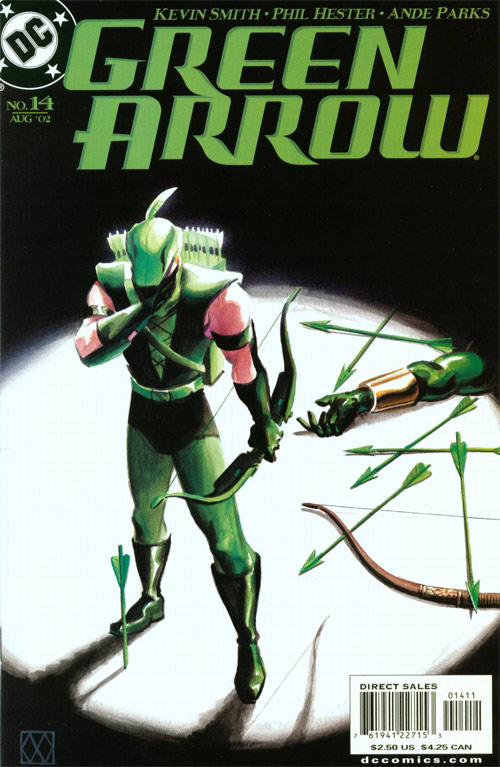 Cover For Green Arrow 14 2002