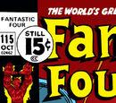 Fantastic Four Vol 1 115
