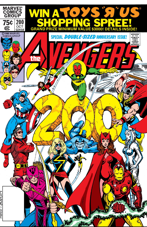 avengers vol 1 200 marvel comics database