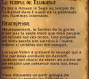 Quête : Le temple de Telhamat