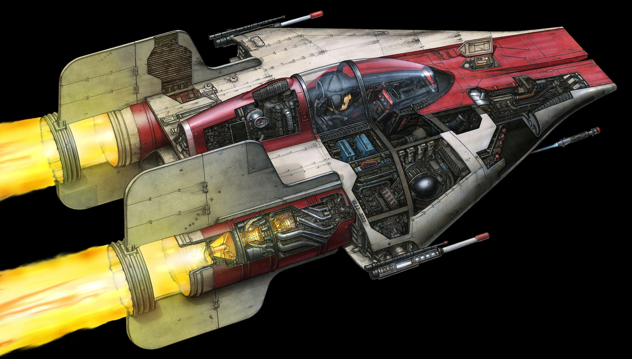 스타워즈 반란군 A윙 엔진에 대한 이미지 검색결과