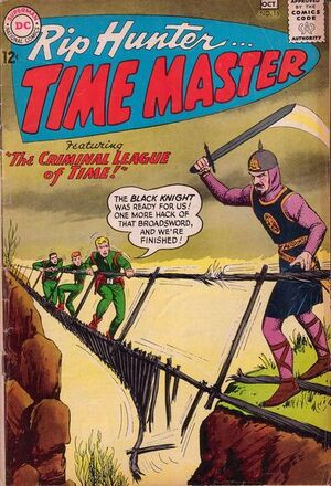 Cover for Rip Hunter #16 (1963)