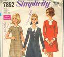 Simplicity 7852