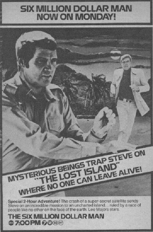 Six Million Dollar Man The Lost Island Part