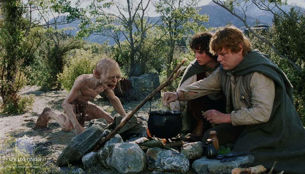 Frodo Sam Und Gollum