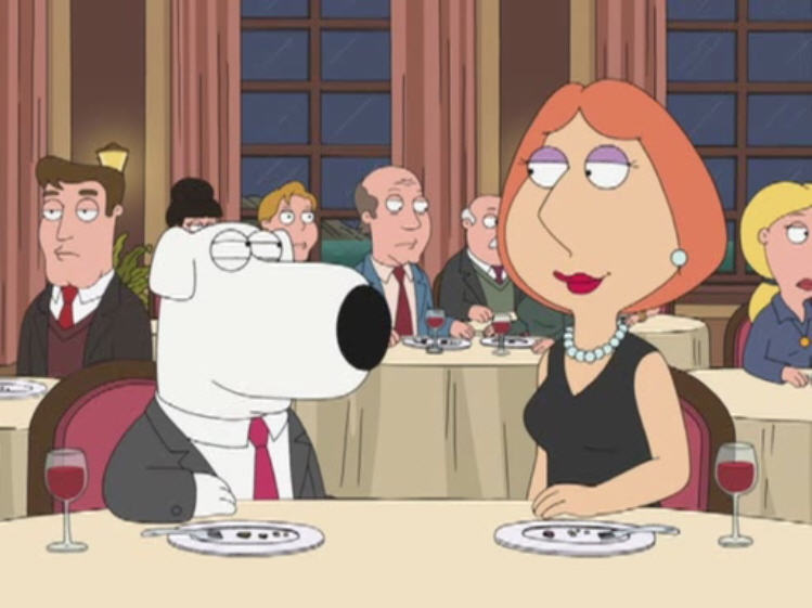 Family Guy Brian Lois