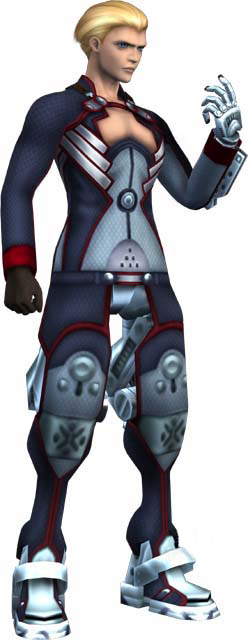 Ziggy as he appears in Episode IIXenosaga Characters Momo