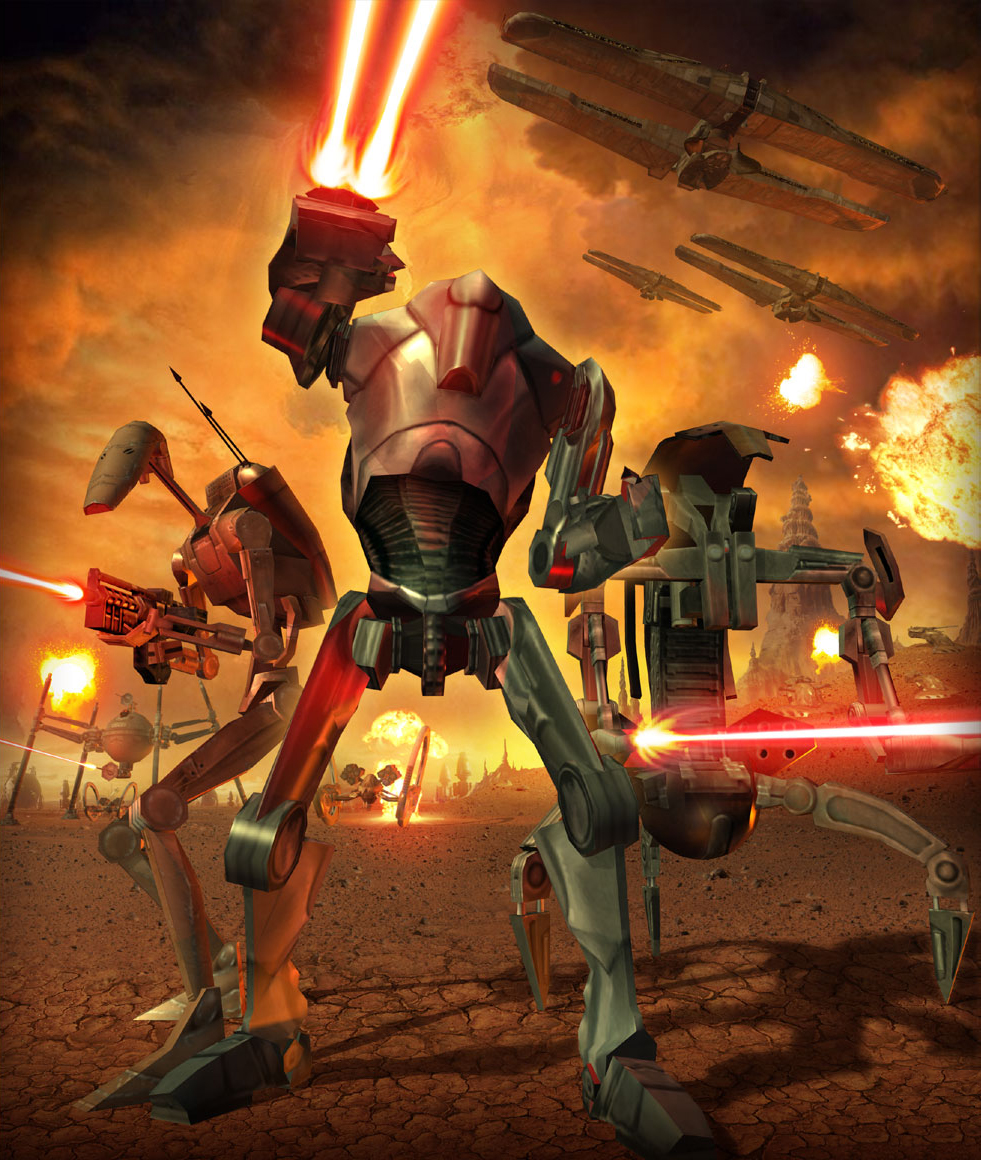 Star Wars The Clone Wars Super Battle Droids Clone Wars a Battle Droid