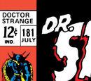Doctor Strange Vol 1 181