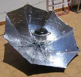 La cocina solar paracuina cocina solar for Planos para cocina solar parabolica