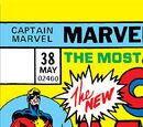 Captain Marvel Vol 1 38