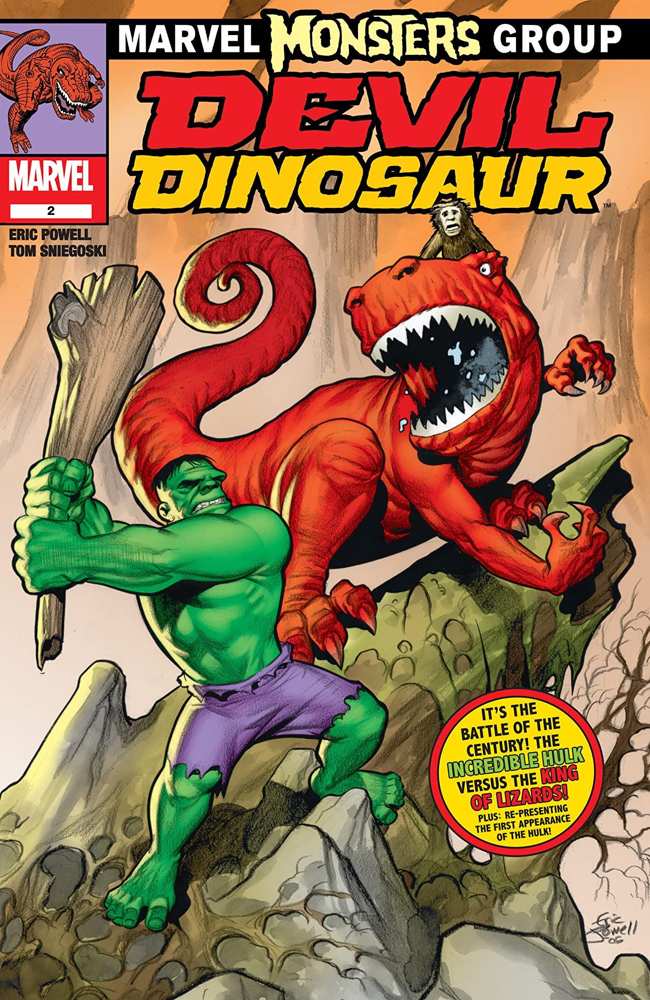Marvel Monsters Devil Dinosaur Vol 1 1 Marvel Comics