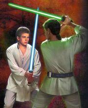 Anakin Skywalker vs. Ferus Olin