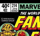 Fantastic Four Vol 1 214