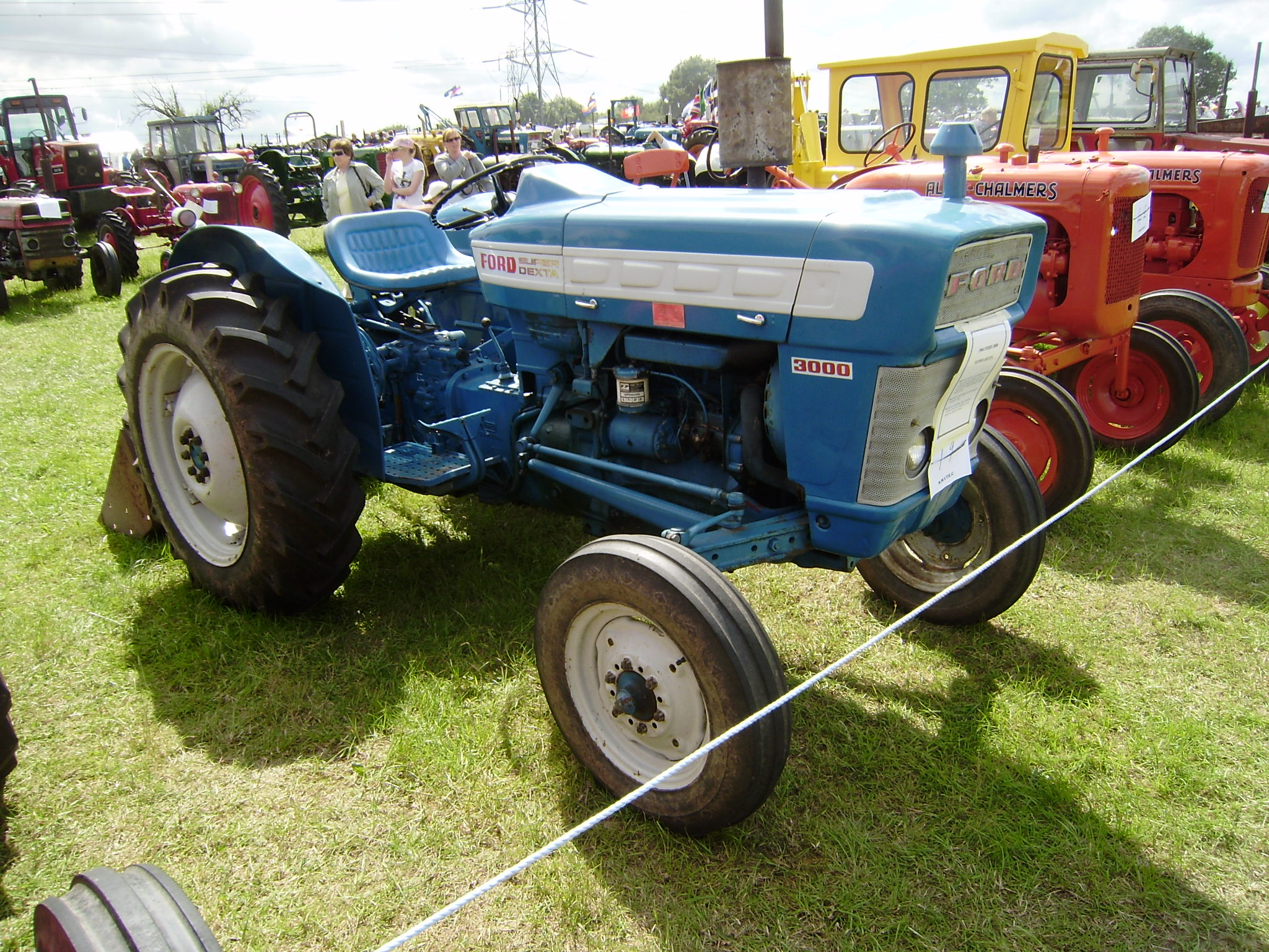 Ford 3000 Tractor Grill : Fordson dexta tractor construction plant wiki the