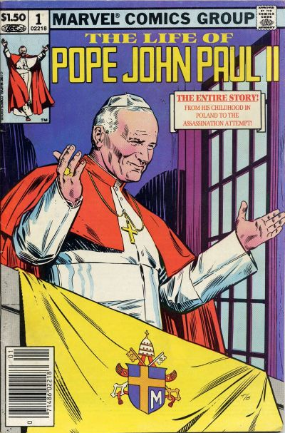 Unlikeliest Comics in the World Life_of_Pope_John_Paul_II_Vol_1_1