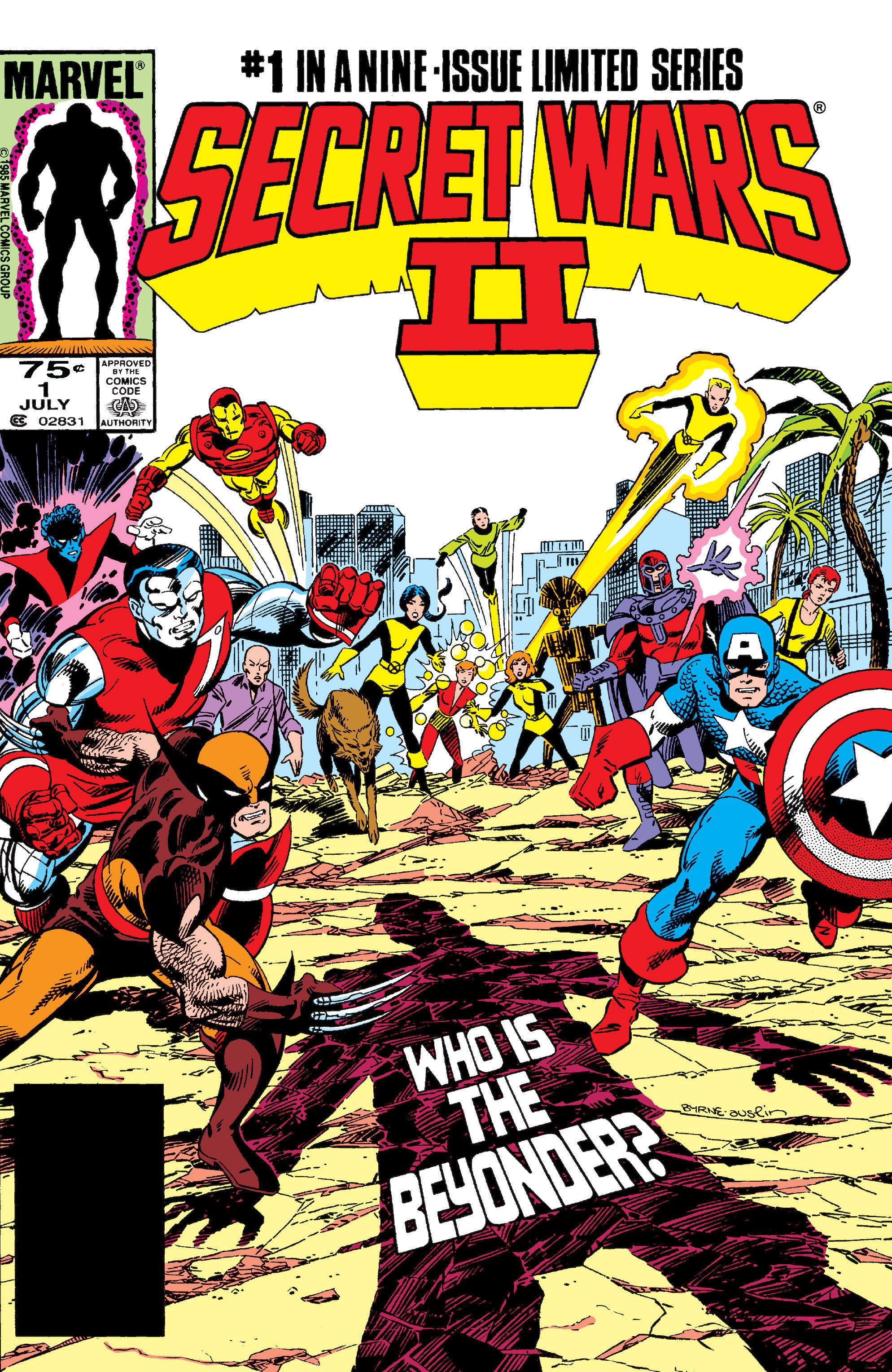 Secret wars ii no9
