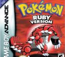 Pokémon Ruby and Sapphire Version