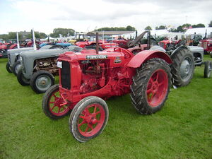 McCormick-Deering W12 at Driffield-P8100549