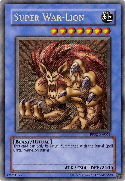 War Lion Yugioh Super War-lion
