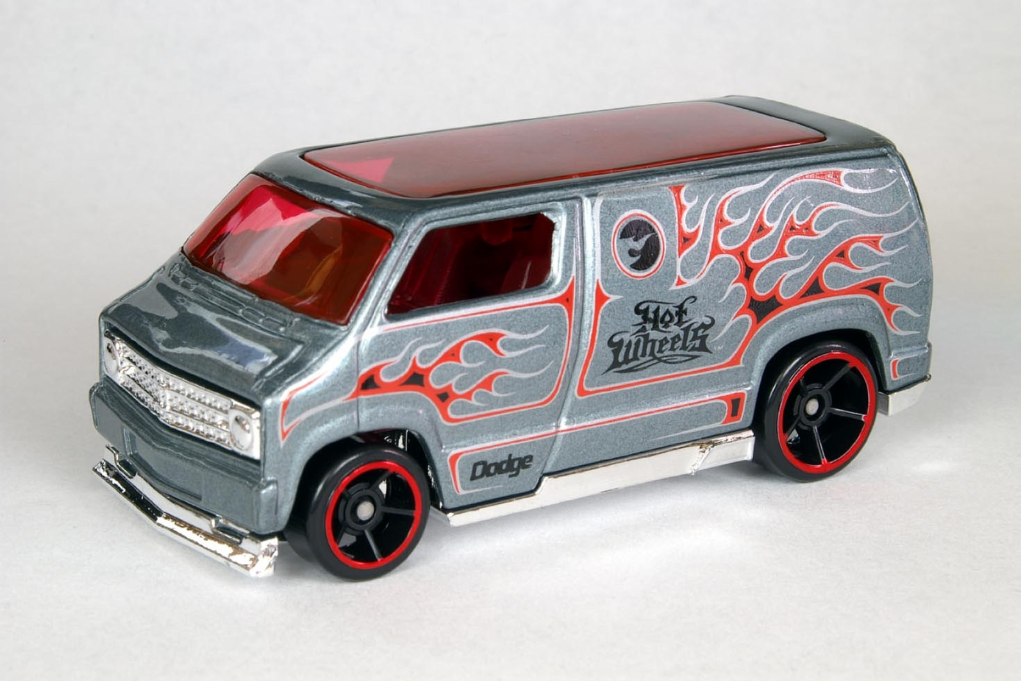 Hot Wheels Vans on 1977 dodge van custom