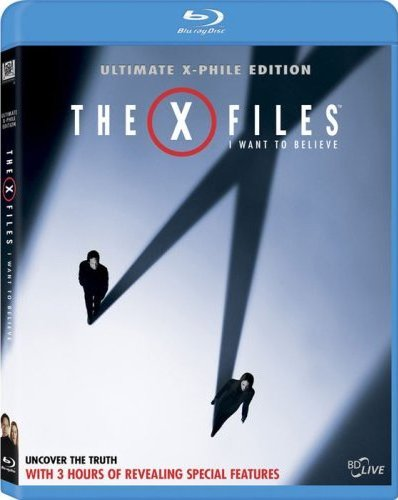 The X-Files  I Want to Believe Blu-rayI Want To Believe X Files