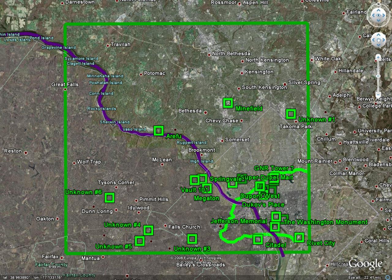 Judgemental Map Of Washington DC Map Of Richmond