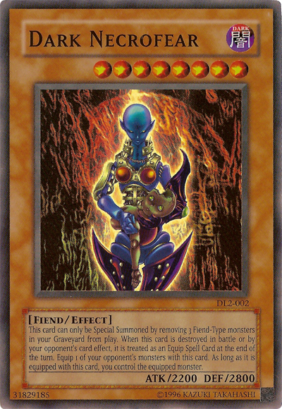 Yu Gi Oh Featured Card Dark Necrofear Yu Gi Oh It S