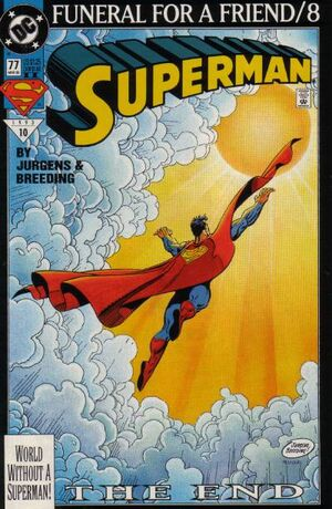Cover for Superman #77 (1993)