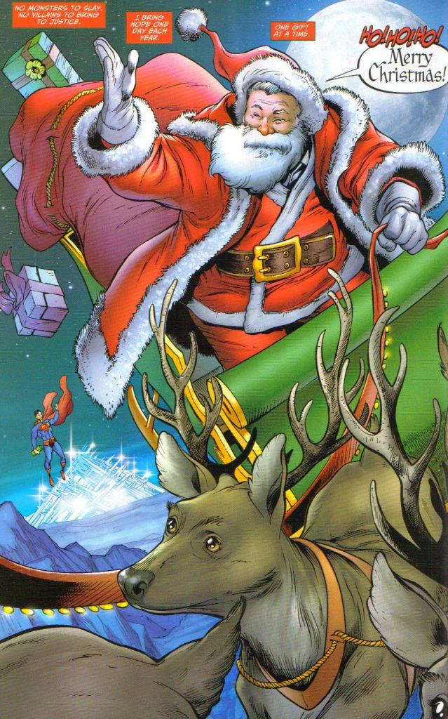 Santa claus dc comics database