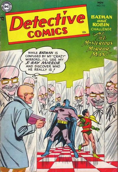 Cover for detective comics 213 1954