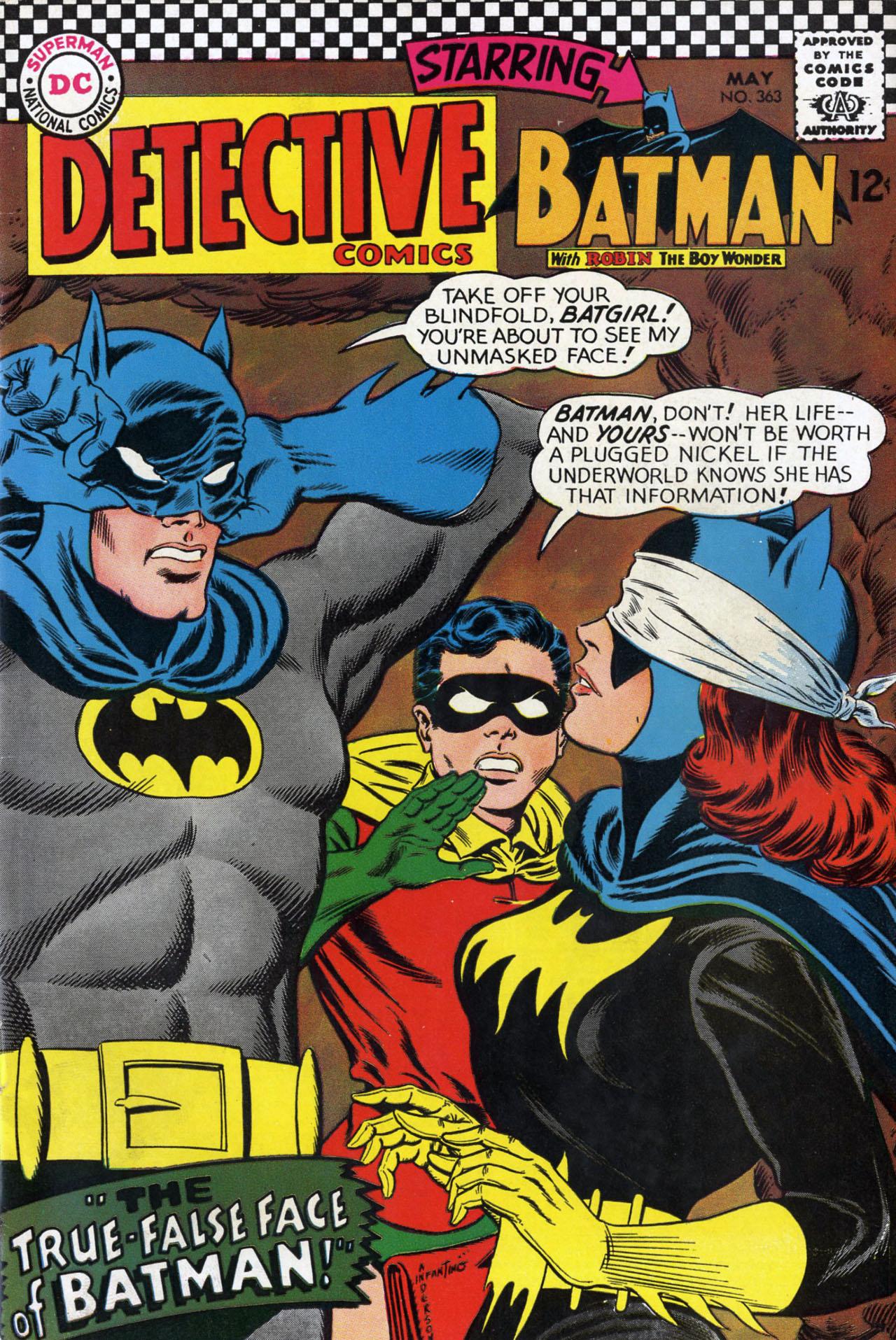 Favorite comic book version of Batgirl? Detective_Comics_363