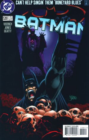 Cover for Batman #539 (1997)