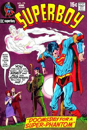 Cover for Superboy #175 (1971)