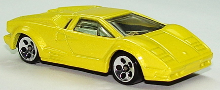 hot wheels lamborghini countach 1997 hot wheels 1997 first editions lamborghini countach yellow. Black Bedroom Furniture Sets. Home Design Ideas