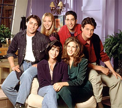 main cast friends central tv show episodes