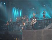 Rammstein in concerto a Milano il 24 Febbraio 2005